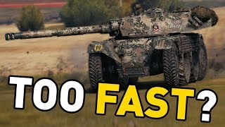 World of Tanks || Are Wheeled Lights TOO FAST?