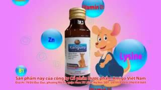 Siro Kanguru Nano Canxi - Cho bé ăn ngon