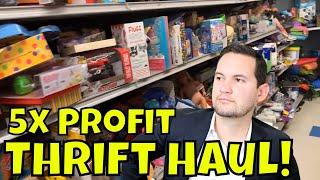 Goodwill Sourcing CRAZY Profits! eBay And Amazon Flips!