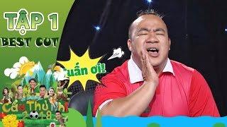 HLV Hồng Sơn cười tức tưởi khi Hiếu Hiền nhại giọng các cầu thủ nhí| Best Cut Cầu Thủ Nhí 2018