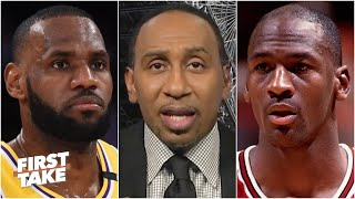 Could LeBron surpass Michael Jordan as the GOAT with a championship this year? First Take debates