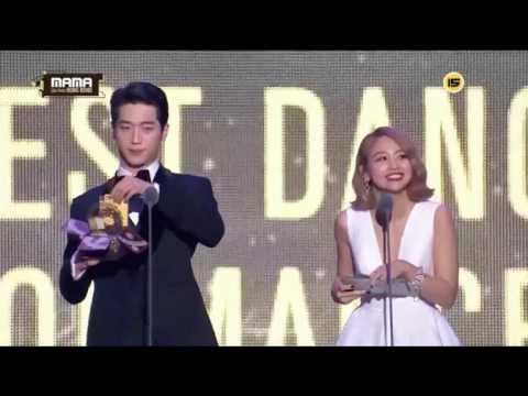 2016.12.2 2016 mnet MAMA 頒獎片段鬼鬼吳映潔CUT