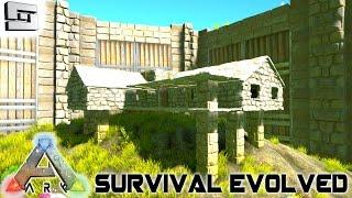 ARK: Survival Evolved - BASE BUILDING AND IRRIGATION! E25