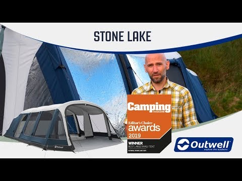 video Outwell Stone Lake 7ATC – Large Family Inflatable Tent