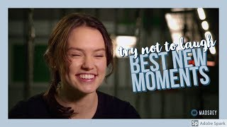 Try not to Laugh with Daisy Ridley