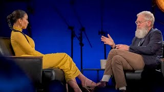Kim Kardashian REVEALS MAJOR Secret On David Letterman's Netflix Show