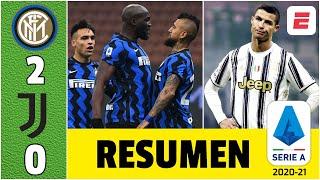 Inter 2-0 Juventus. ¡Anotó el Rey! Arturo Vidal, decisivo. Cristiano Ronaldo no apareció | Serie A
