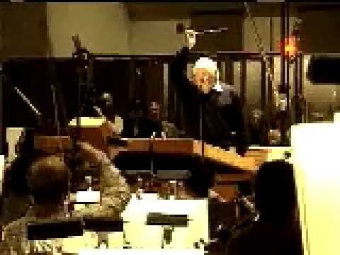 Jerry Goldsmith conducts Fanfare For Oscar