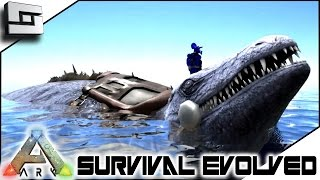 ARK: Survival Evolved - MOSASAURUS TAMING! S2E42 ( Gameplay )