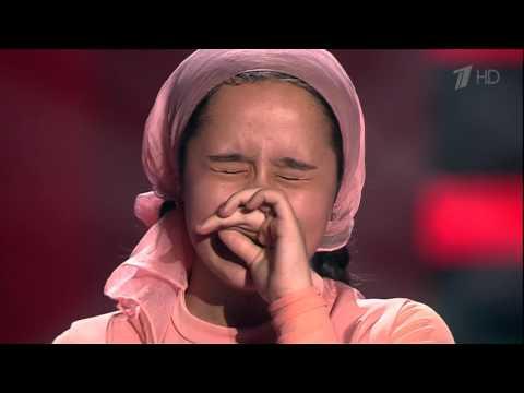 Раяна Асланбекова - Derniere danse [Голос Дети-3 2016]
