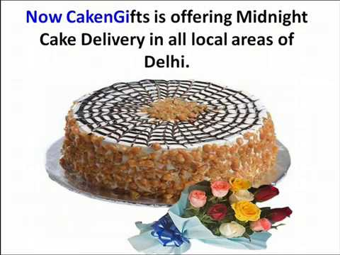Midnight Cake Delivery Services of CakenGifts
