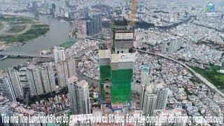 The Landmark81: Nóc nhà Đông Dương đã cán cột móc tầng thứ 81  Vres TV