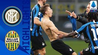 Inter 2-1 Hellas Verona   Stunning Late Barella Goal Seals Comeback Win   Serie A