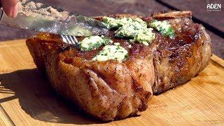 Rare Porterhouse Steak vs. Precious Japanese Knife