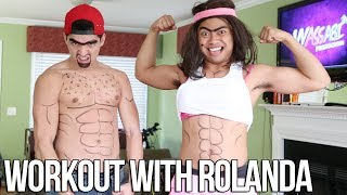 WORKOUT WITH ROLANDA!