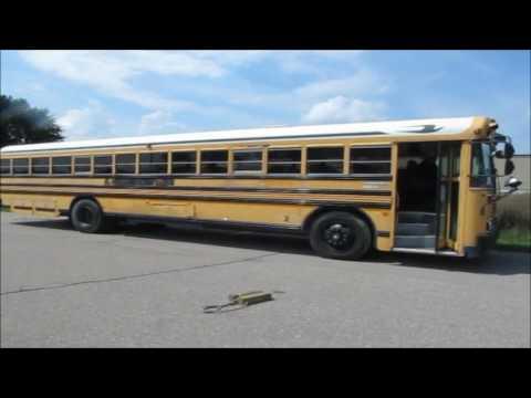 1995 Blue Bird TC2000 school bus for sale | no-reserve Internet auction September 28, 2016
