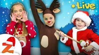 🔴 Christmas Songs & Nursery Rhymes for Kids ☃️🎄 #ZouzouniaTV