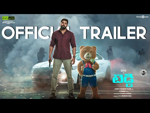 Teddy official Telugu trailer- Arya, Sayyeshaa