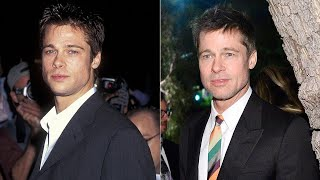 Brad Pitt Shaves -- and Looks Just Like He Did Back in the '90s!