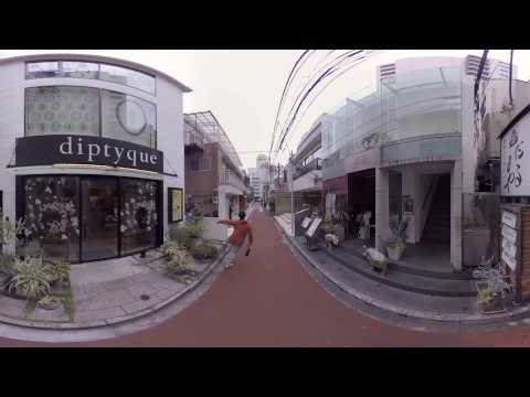 3D-360 video - Way to STEREO CLUB Tokyo 3-D Exhibition by SEKITANI Takashi