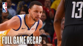 WARRIORS vs ROCKETS | Golden State & Houston Go Down To The Wire | March 13, 2019