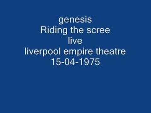 genesis- riding the scree (live)