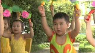 Bài tập thể dục buổi sáng cho trẻ 3 - 4 tuổi ( 2015 )