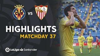 Resumen de Villarreal CF vs Sevilla FC (4-0)