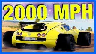 Forza Horizon 3 : 2000MPH BUGATTI VEYRON!! **120 Million Horsepower**