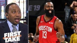 James Harden is 'the greatest scorer in the NBA' - Stephen A. | First Take