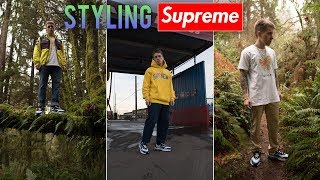 How I Style Supreme With Chunky Sneakers