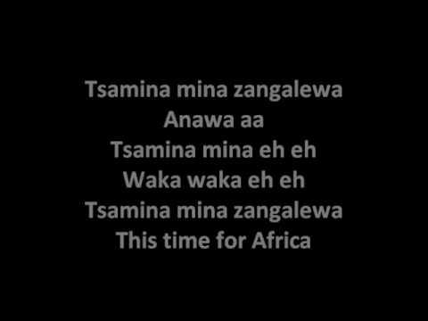 shakira afrika youtube