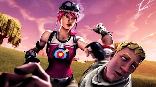 BULLSEYE: THE NOOB WHO LEARNED TO FIGHT | A Fortnite Movie