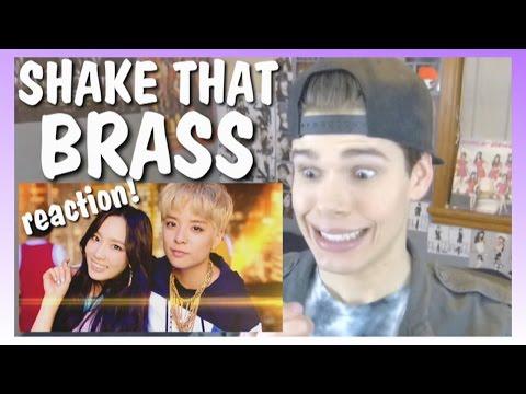 MV Reaction | AMBER_ SHAKE THAT BRASS (Feat. TAEYEON)