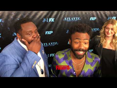 Atlanta Star  Donald Glover Talks most hoodest moment on set