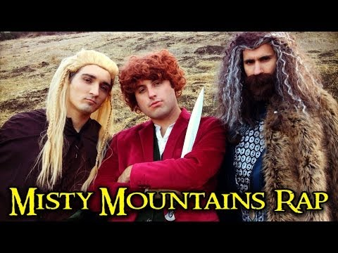 THE HOBBIT - MISTY MOUNTAINS RAP - Smashpipe Comedy