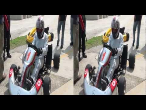 Go Kart 3D (estereoscópico) + GoPro