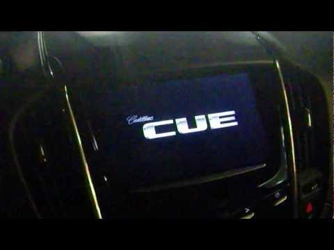A sneak peak at Cadillac CUE