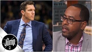 It's 'absolutely not' fair for Luke Walton to be on hot seat - Amin Elhassan | The Jump
