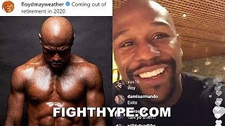 """(BREAKING!) FLOYD MAYWEATHER ANNOUNCES """"COMING OUT OF RETIREMENT IN 2020"""""""