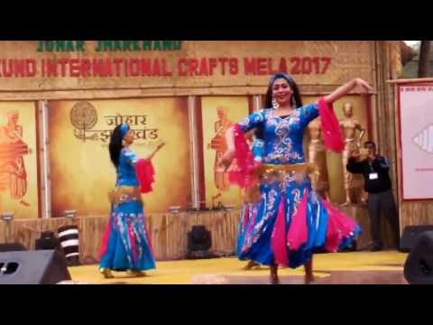 Surajkund Mela 2017: Female Egyptian Performing Traditional Dance - Day 4
