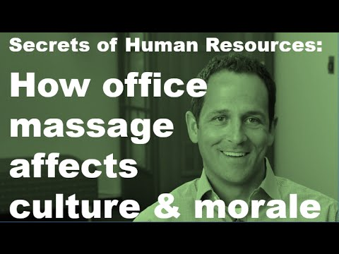 How Corporate Massage Can Improve Wellness, Culture, and Morale