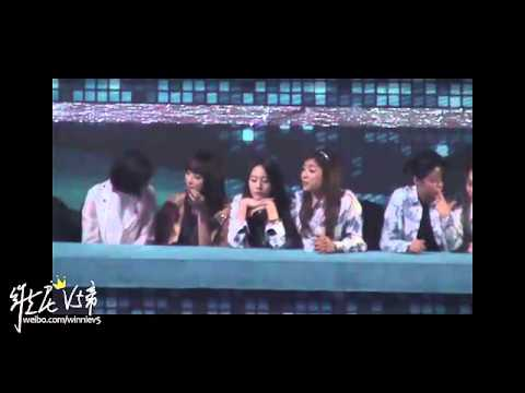 [Fancam] 121229 f(x) - Song Qian focus @ SBS Gayo Daejun 2012