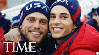 Gus Kenworthy On His 'Instant Friendship' With Adam Rippon: 'Sparks Flying' | TIME