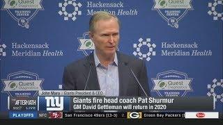 John Mara report: Giants fired Pat Shurmur; GM David Gettleman return in 2020