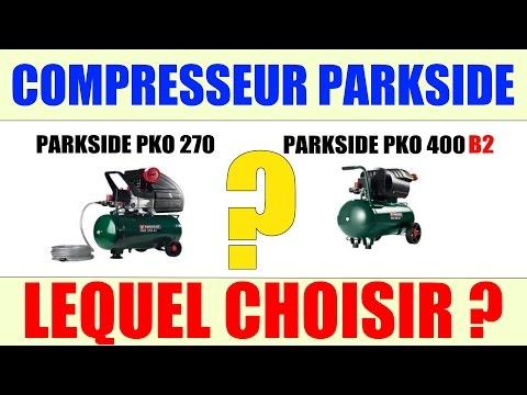 Compresseur parkside lidl pko 270 pko 400 lequel choisir - Decapeur thermique lidl ...