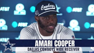 Amari Cooper: We Have A Lot Of Potential | Dallas Cowboys 2020