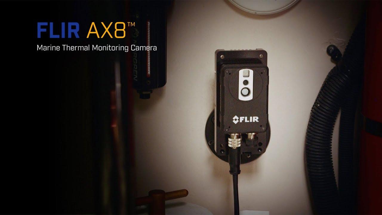 Se FLIR Ax8 – Kompakt termografikamera for fast montasje