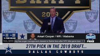 1st Round Draft Pick - Amari Cooper | Dallas Cowboys 2019