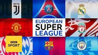 Is the European Super League the future of football?   BBC Sport
